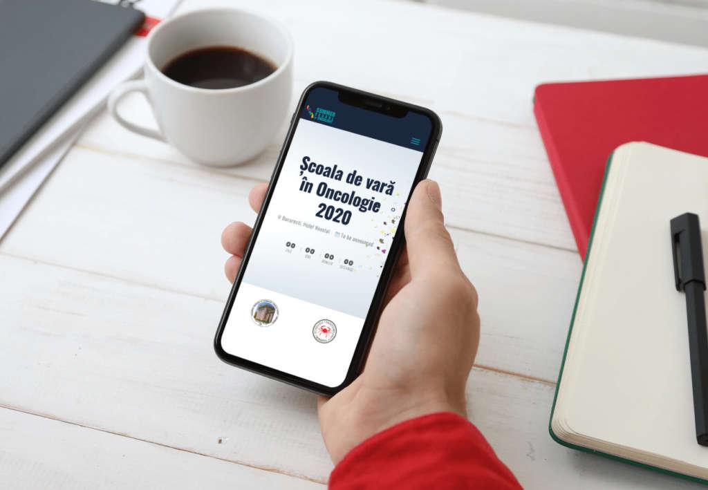 realizare site de prezentare optimizat pentru mobil